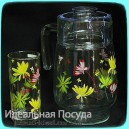 Набор для воды Luminarc Crazy Flowers 7 пр