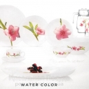 Столовый сервиз Luminarc Water Color 46пр. (6 пер)