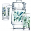 Набор для воды Luminarc TROPICAL FOLIAGE 7 пр